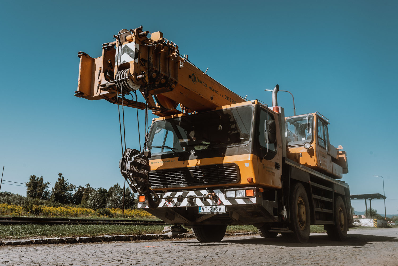 BHGL autožeriav Groove o nosnosti 35 ton