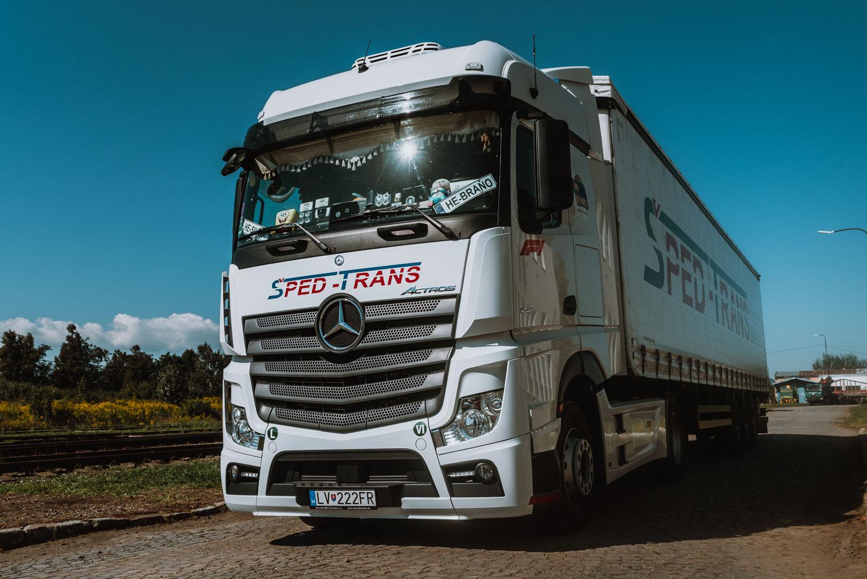BHGL Mercedes-Benz medzinárodná kamiónová doprava