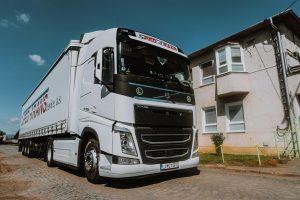 Volvo FH VTA3T kamiónová preprava