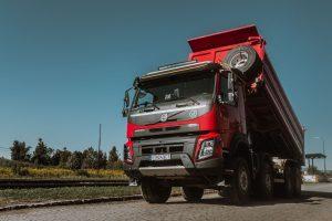 BHGL nákladné auto vyklápač na prevoz sypkých materiálov