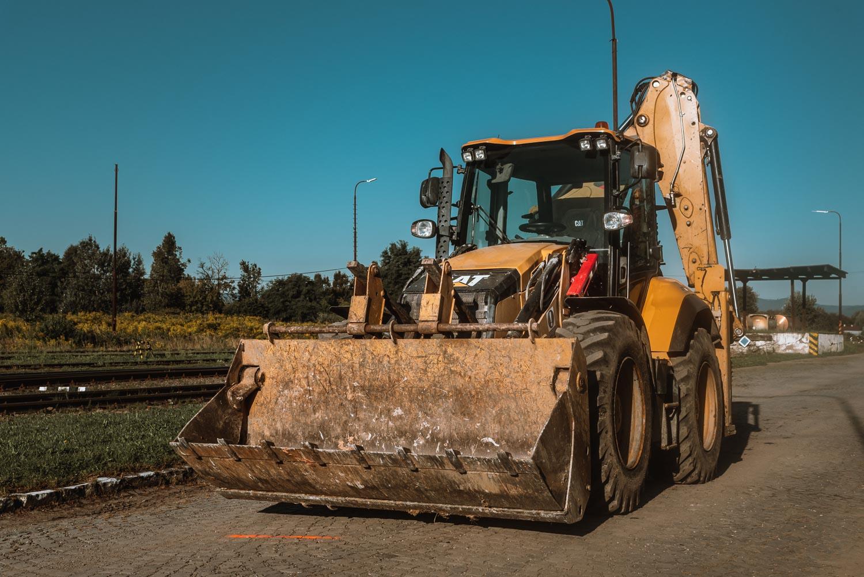 Traktorbager CAT 444 F2